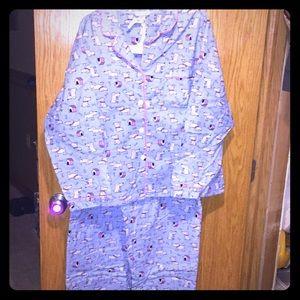 Anna New York Pajama Set 2 piece X-Large